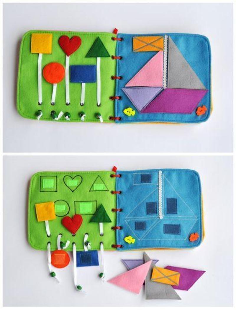 libro sensorial - actividades estimulacion sensorial para niños - sensory play activities for children