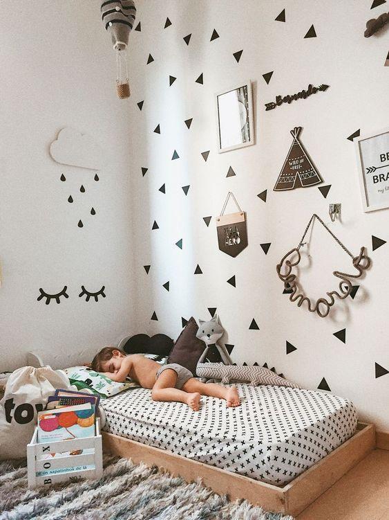 montessori nursery room - habitacion bebe montessori
