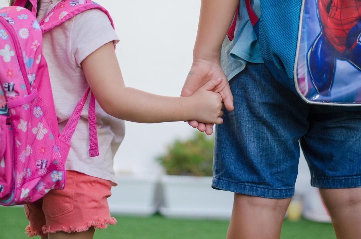 periodo de adaptacion - primer dia de escuela