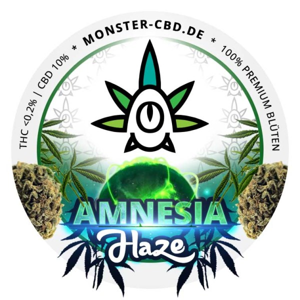 Amnesia Haze Label