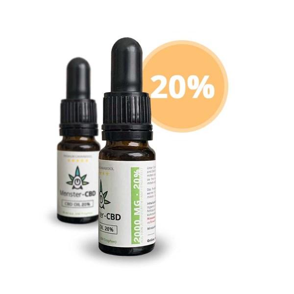 CBD Oil • 20% CBD Premium Öl 1