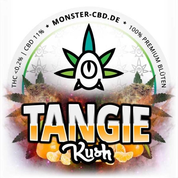 Tangie Kush 3g • 11% CBD Premium Elite Blüten 1
