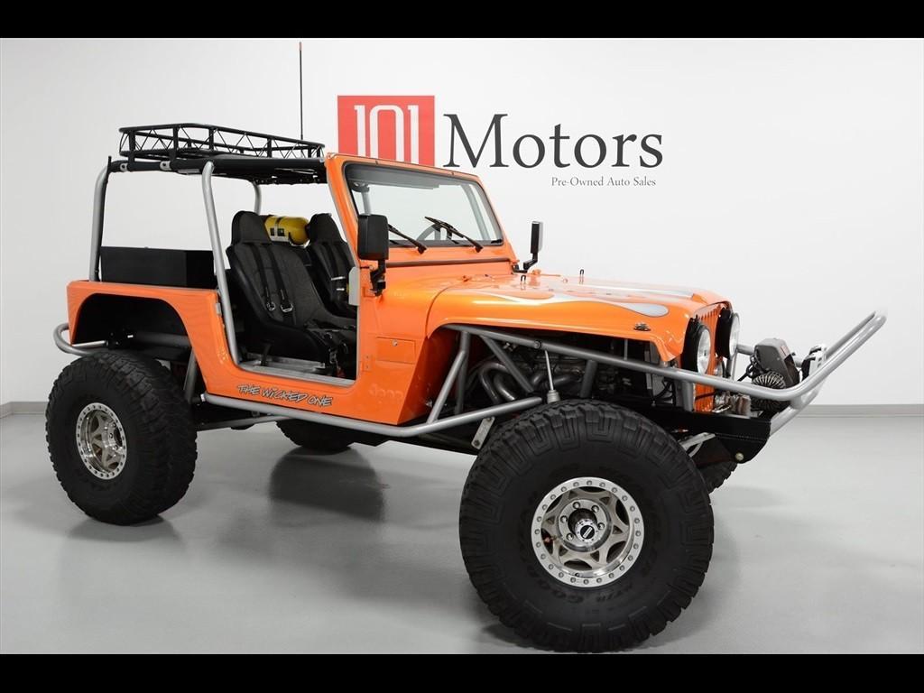 Fuel Gauge Jeep Cj5