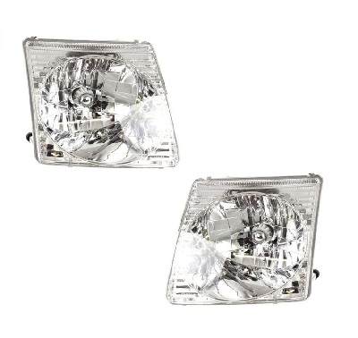 Ford Explorer Sport Trac Headlights Lens Headlamps At