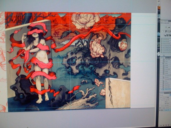 James Jean Rift final production
