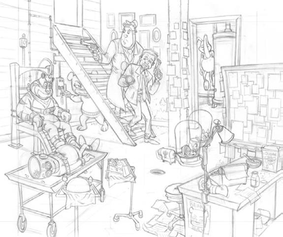 patrick-ballesteros-bitter-bear-original-sketch