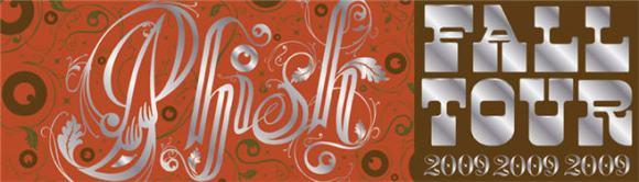 phish fall tour logo