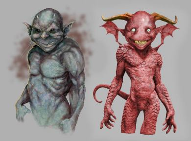 Dismemberment Goblins concept art.