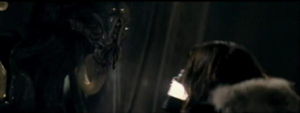 The only known screenshot of the original climax sequence featuring the Pilot.