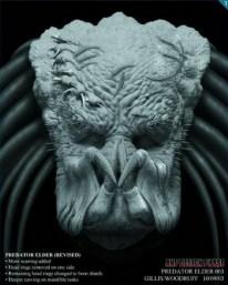 Elder head concept art.