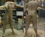 The body sculpture, by Bruce Spaulding Fuller.