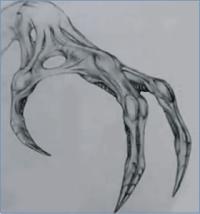 Alienshandsketch | Monster Legacy
