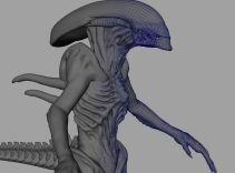 Building the digital Alien.