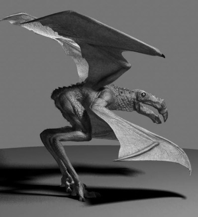 The completed digital model by Miguel Ortega.