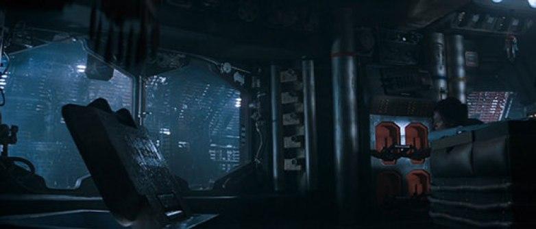 Alien interno nave Nostromo