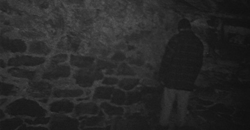 Blair Witch Project Mike al muro