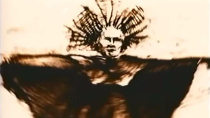 Disegno di Elly Kedward strega di Blair