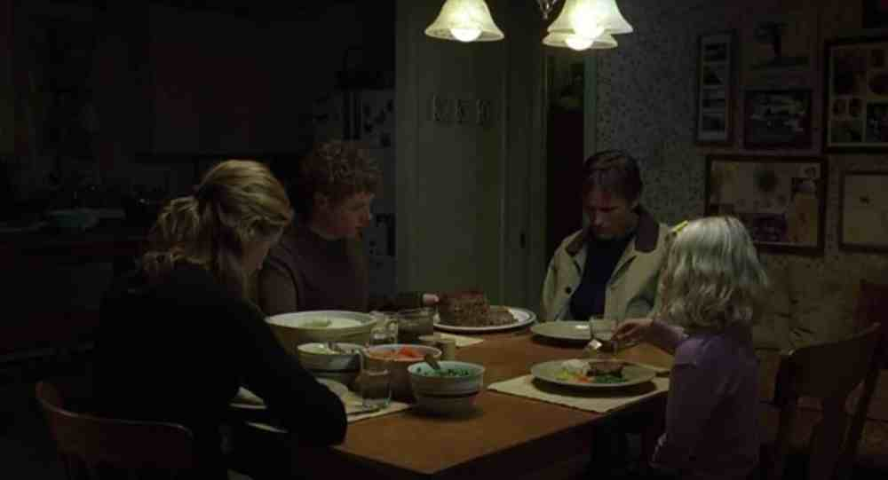 History of Violence famiglia a tavola