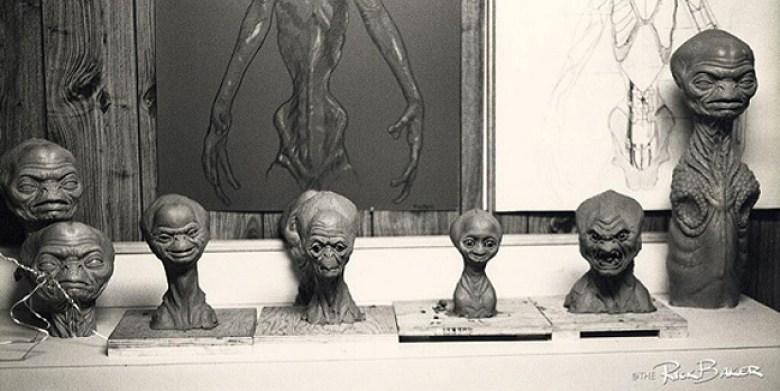 ET prototipi di Rick Baker