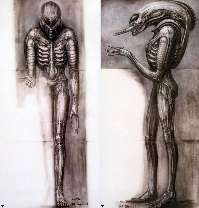 monster-movie-italia alien bozza con occhi