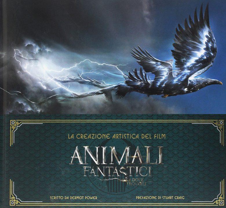 Artbook di Animali Fantastici link su Amazon