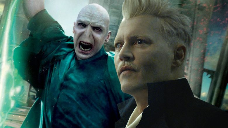 Gellert Grindelwald e Lord Voldemort