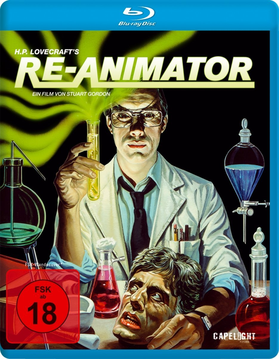 Re-Animator Blu-ray disc