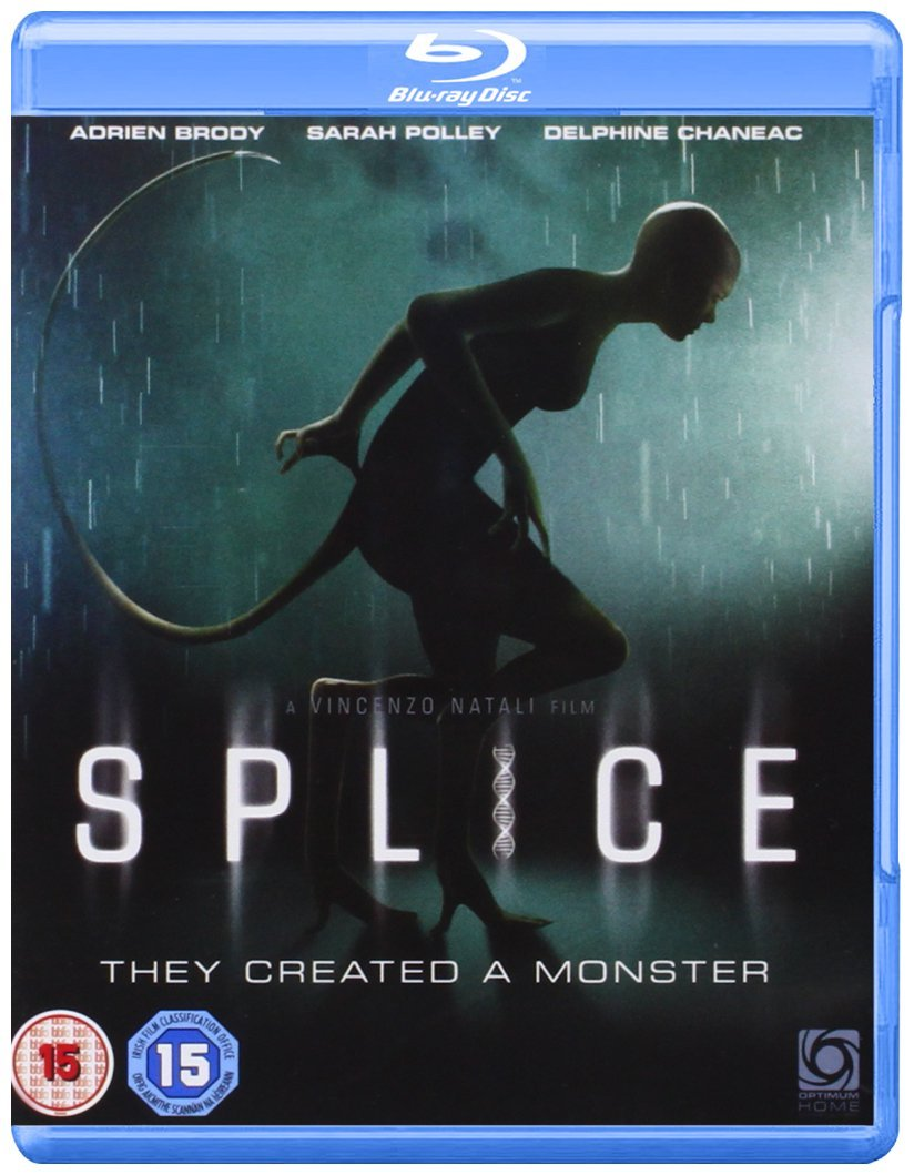 Splice Blu-ray disc