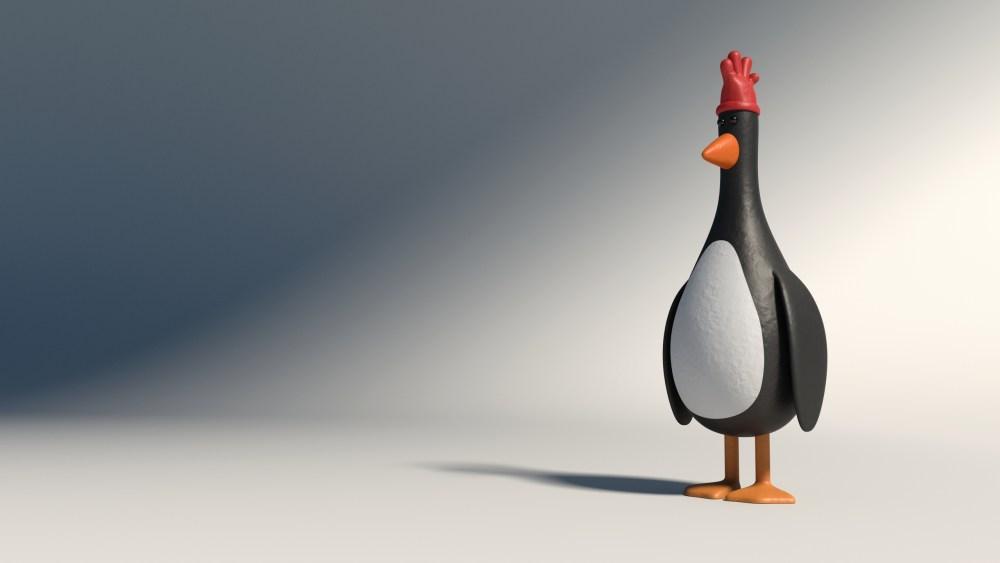 Feather-McGraw penguin hot evil villain cinema monster