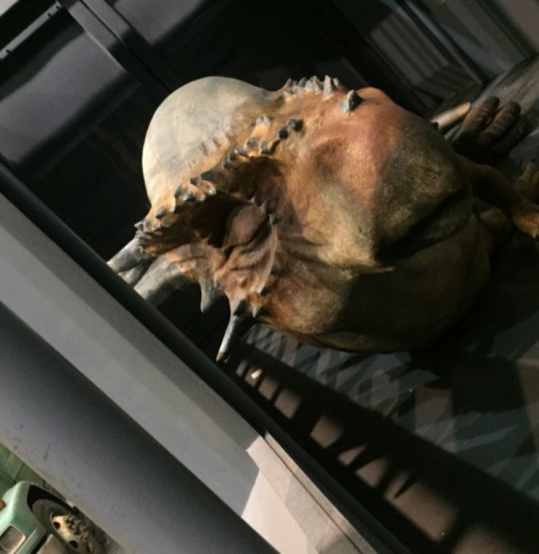 Stygimoloch jurassic world leaked photo ian maclom