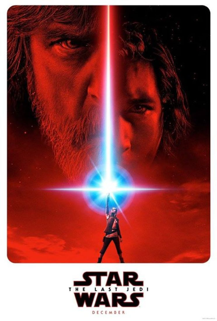 the last jedi star wars 2018 2017 official poster teaser kylo luke rey