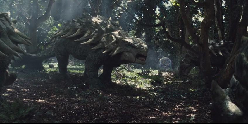 Anchilosauro Fallen Kingdom dinosauro