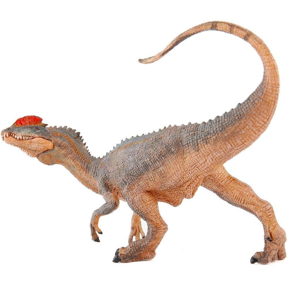 dilofosauro papo amazon sauro
