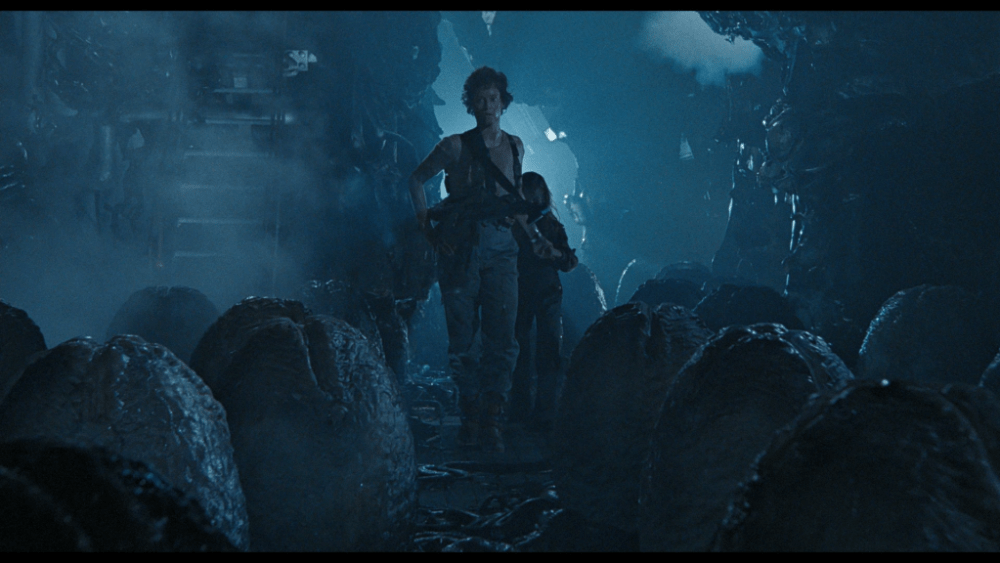 Egg Ovomorph Ripley in Aliens