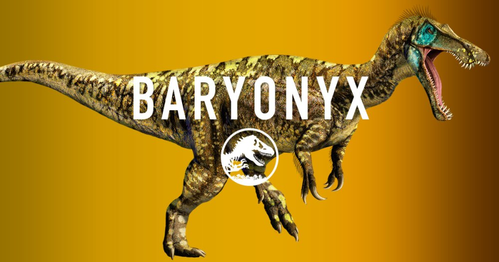 Baryonix Jurassic World dinosauro