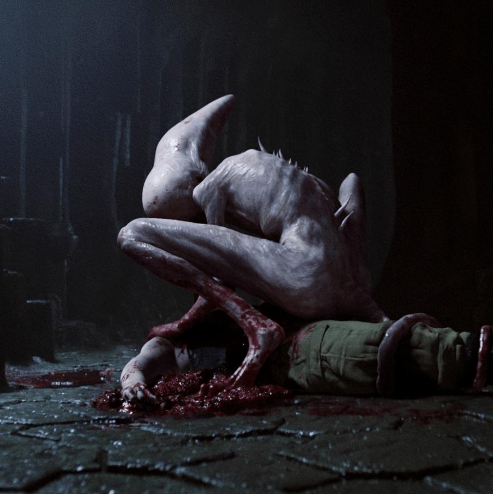 Neomorph art in Alien Covenant