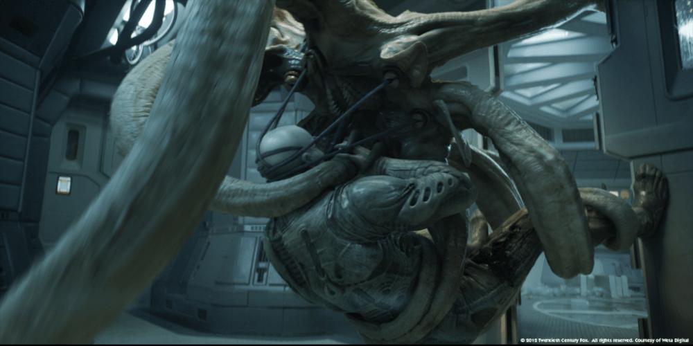Trilobite vs Engineer Prometheus