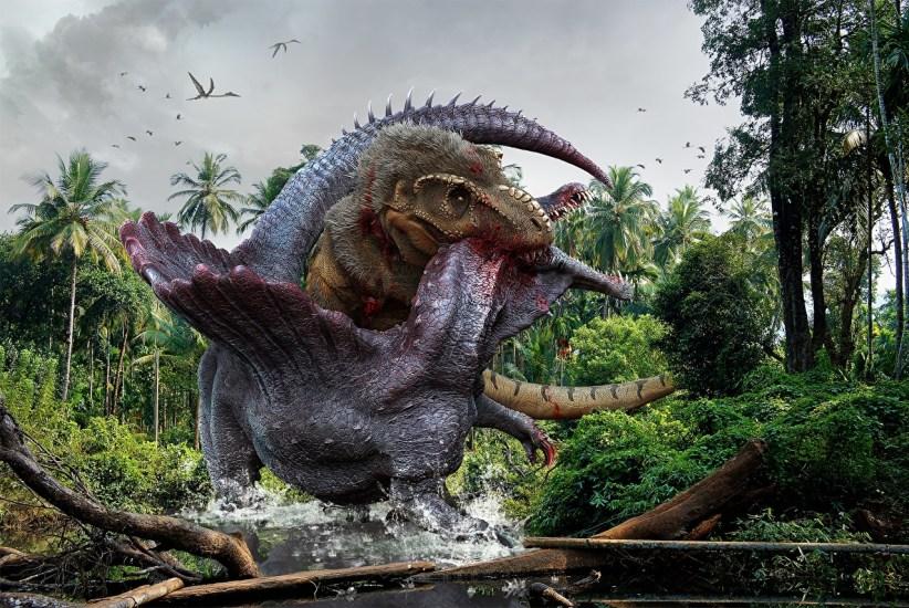 Ancient_animals fallen kingdom jurassic world hot spinosaur vs t rex