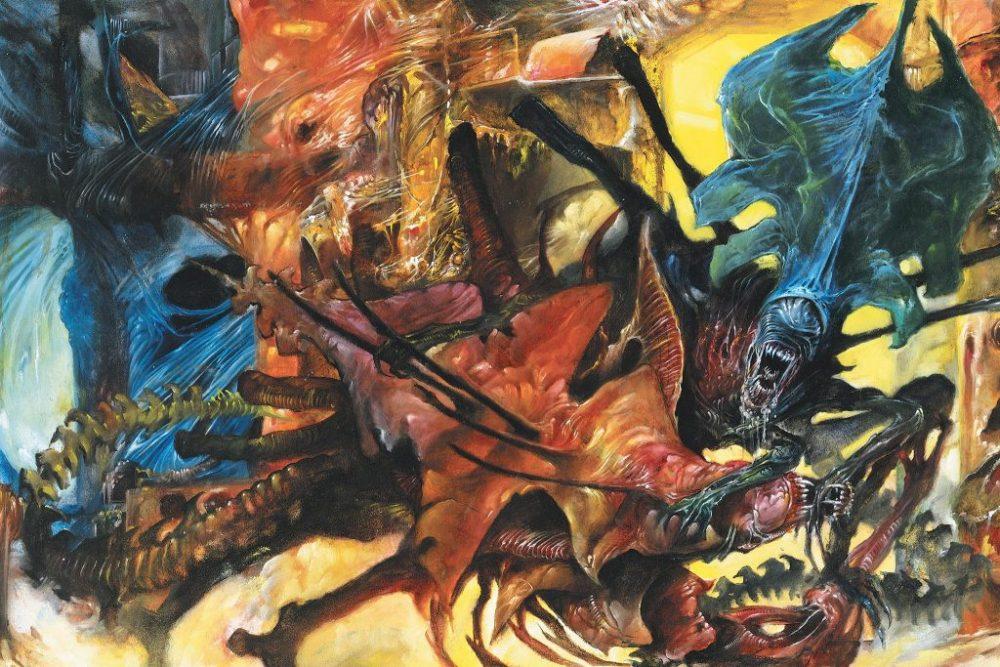 Alien Regina contro Rogue King nei comics