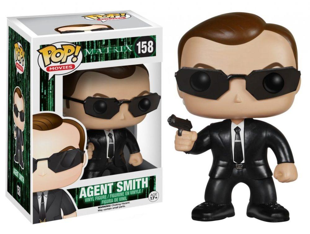 Funko Pop dell'agente Smith