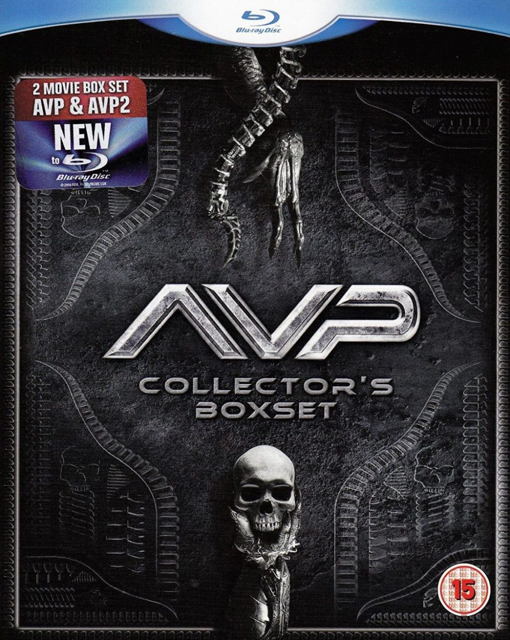 Alien vs Predator 1 e 2 Blu-ray