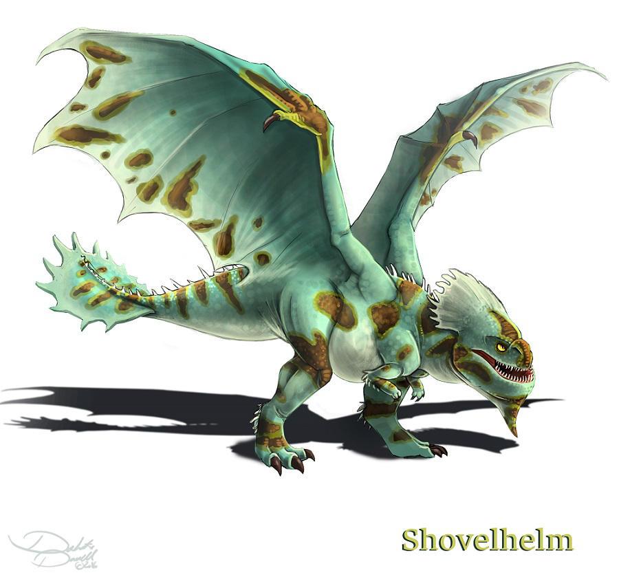 Elmo Palato Shovelhelm Dragon Trainer