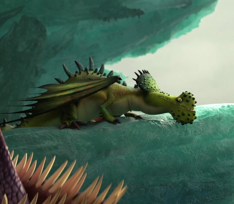 Windgnasher Gnattero Ventoso Dragon Trainer Bestiario
