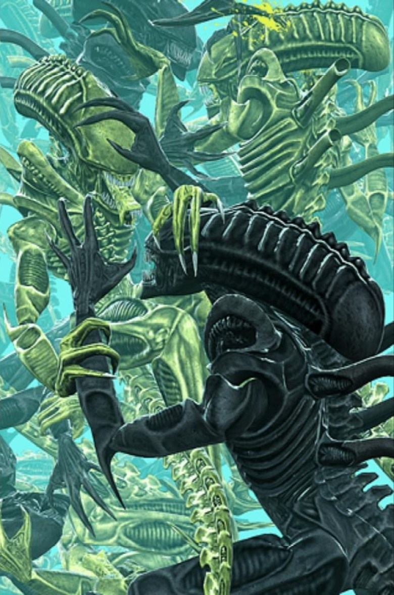 K-Series vs Xenomorph comics