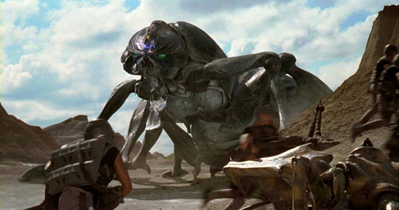 starship troopers scarafaggio