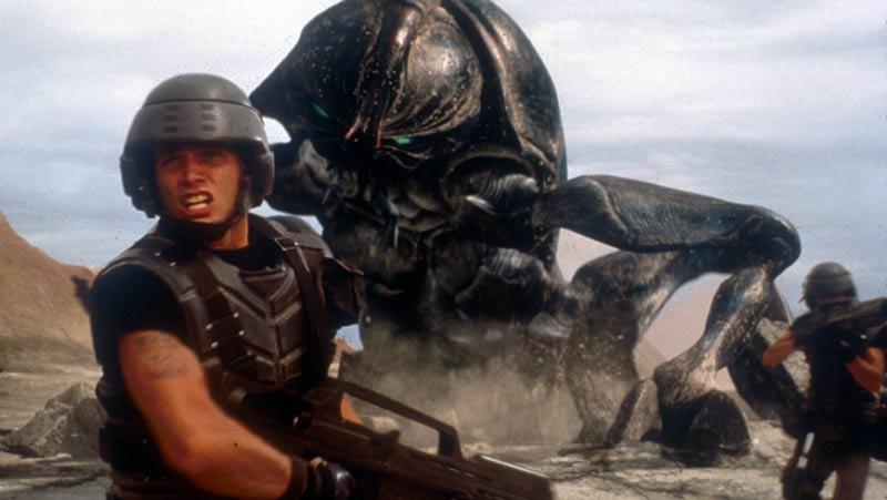 starship troopers scarafaggio alieno