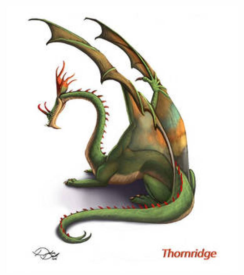 Thornridge Dragon Trainer Bestiario