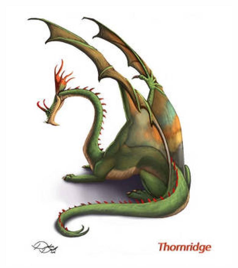 Thornridge Dragon Trainer Bestiario