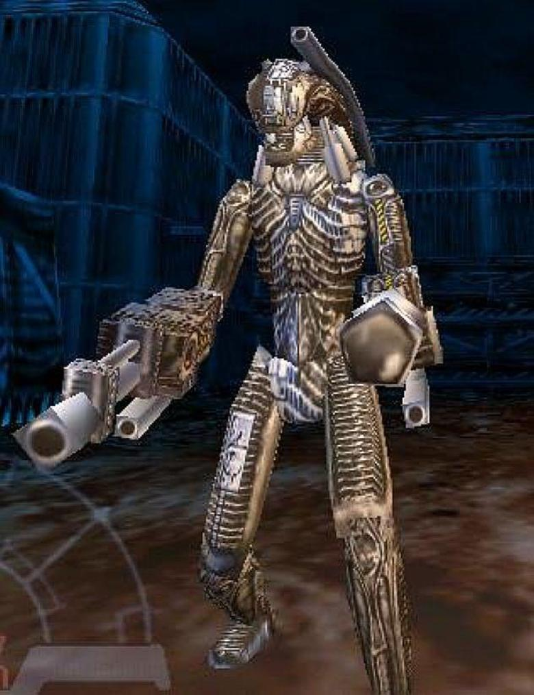 Xenoborg modello Alien vs Predator