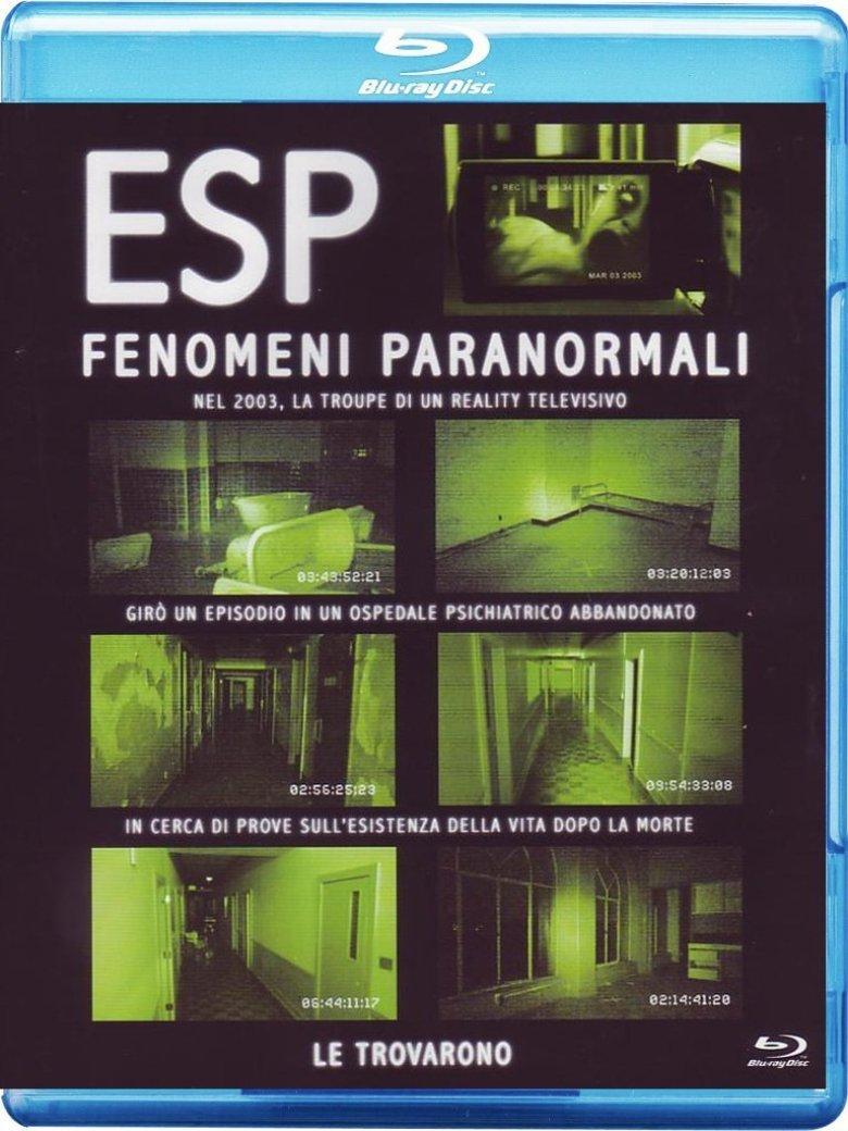 Blu-ray di ESP Fenomeni Paranormali
